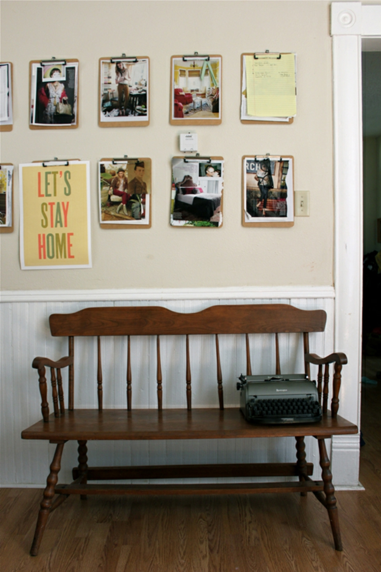 kreative wandgestaltung 35 inspirierende fotobeispiele. Black Bedroom Furniture Sets. Home Design Ideas
