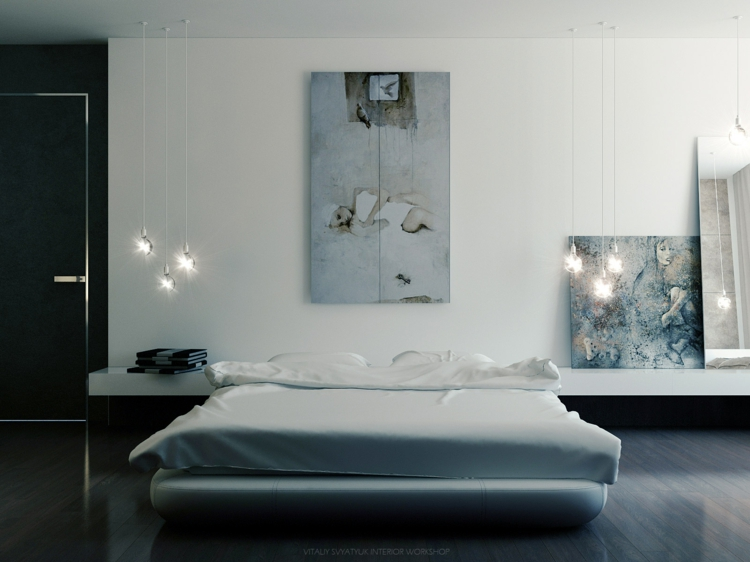 kreative wandgestaltung 35 inspirierende fotobeispiele und ideen. Black Bedroom Furniture Sets. Home Design Ideas