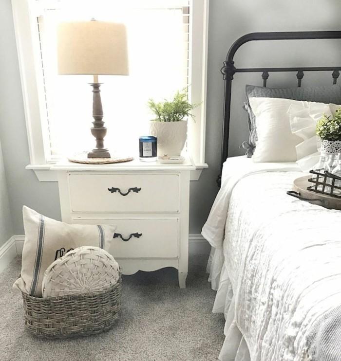 landhausstil schlafzimmer helles und gemütliches ambiente