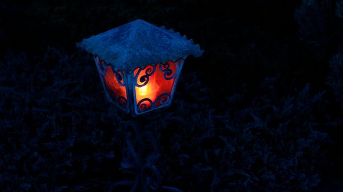 laterne ampon indirekte beleuchtung lichtfest lichterkette mysterie dezent