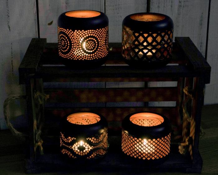 laterne lampion indirekte beleuchtung lichtfest lichterkette mysterie mit ornamenten