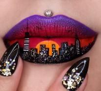 Lippen schminken – 20 ausgefallene Designs für Ihr spektakuläres Party-Outfit
