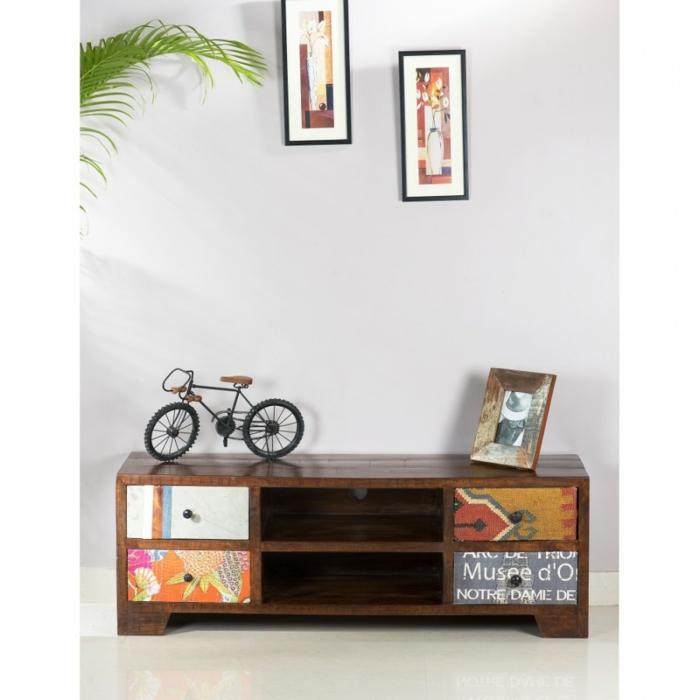 lowboard tv wohnzimmer ideen einrichten einrichtungsbeispiele holzmöbel