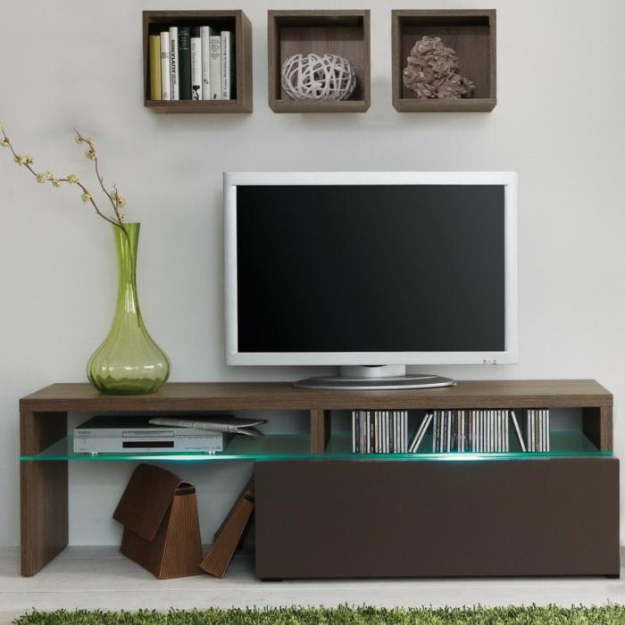 lowboard tv wohnzimmer ideen einrichten einrichtungsbeispiele plastik wohnideen
