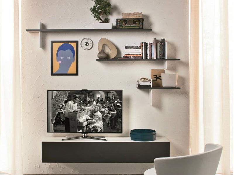 moderne wohnwand design verspielt wandregale wohnzimmer m bel tv. Black Bedroom Furniture Sets. Home Design Ideas