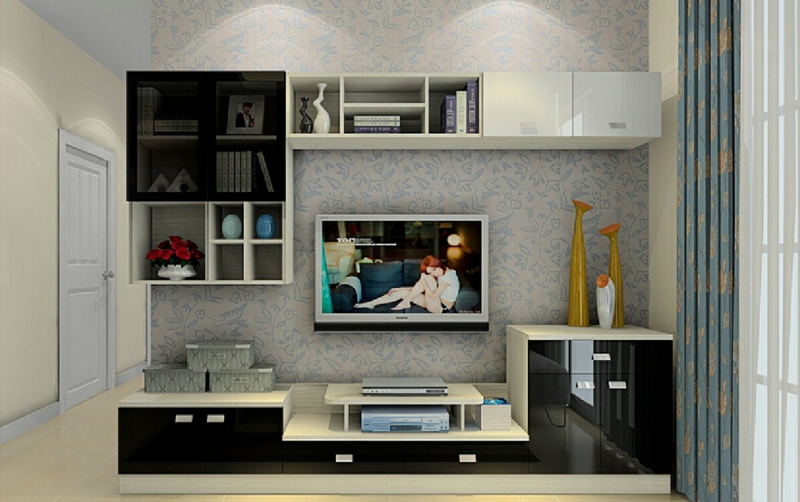 moderne wohnwand ideen die auch praktisch sind. Black Bedroom Furniture Sets. Home Design Ideas
