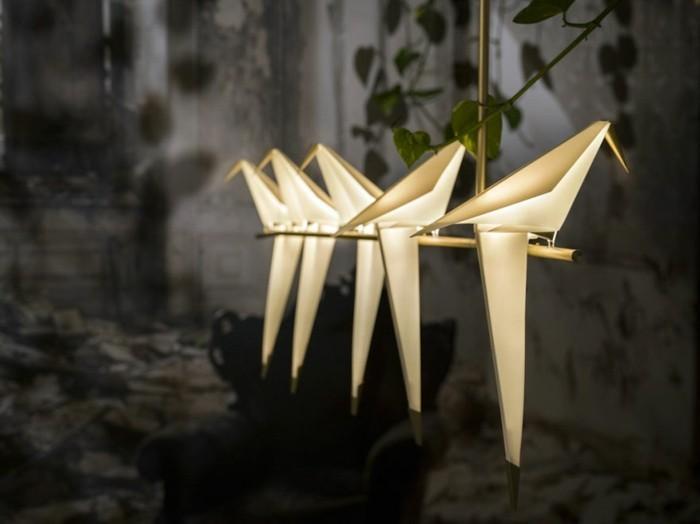 Moderne Lampen 8 : Moderne leuchten in origami optik von umut yamac