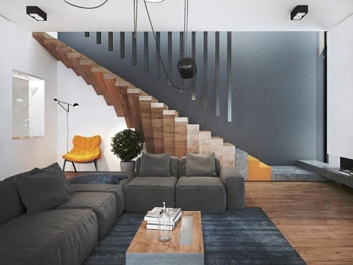 organische treppengestaltung l sst den innenbereich futuristisch erscheinen. Black Bedroom Furniture Sets. Home Design Ideas