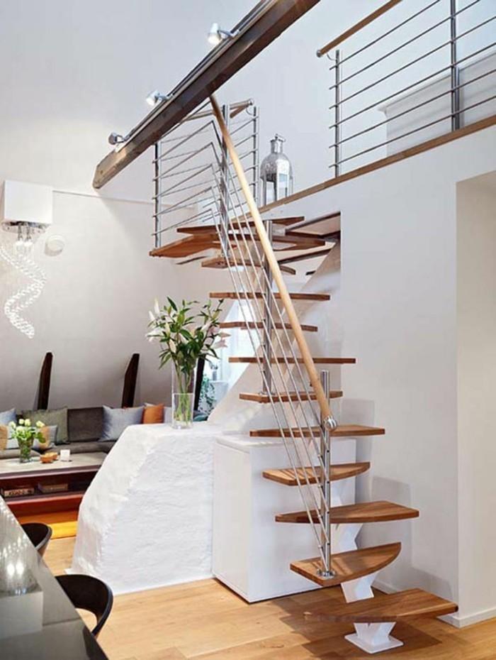 organische treppengestaltung lässt den innenbereich futuristisch, Innenarchitektur ideen