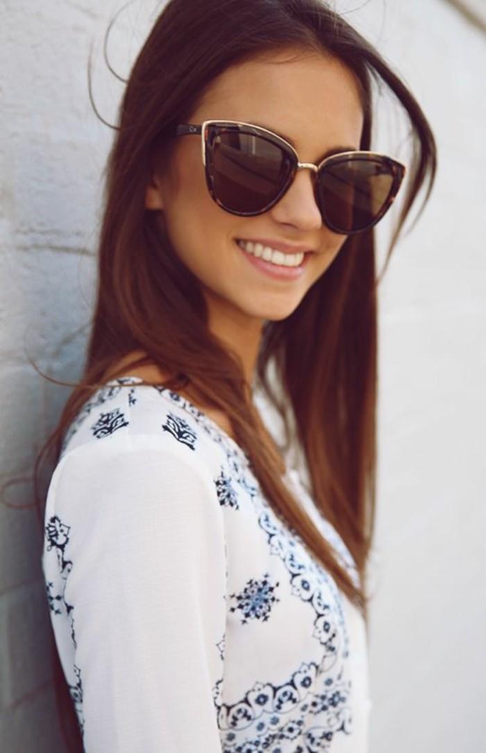 moderne Sonnenbrillen für Damen Modetrends Accessoires