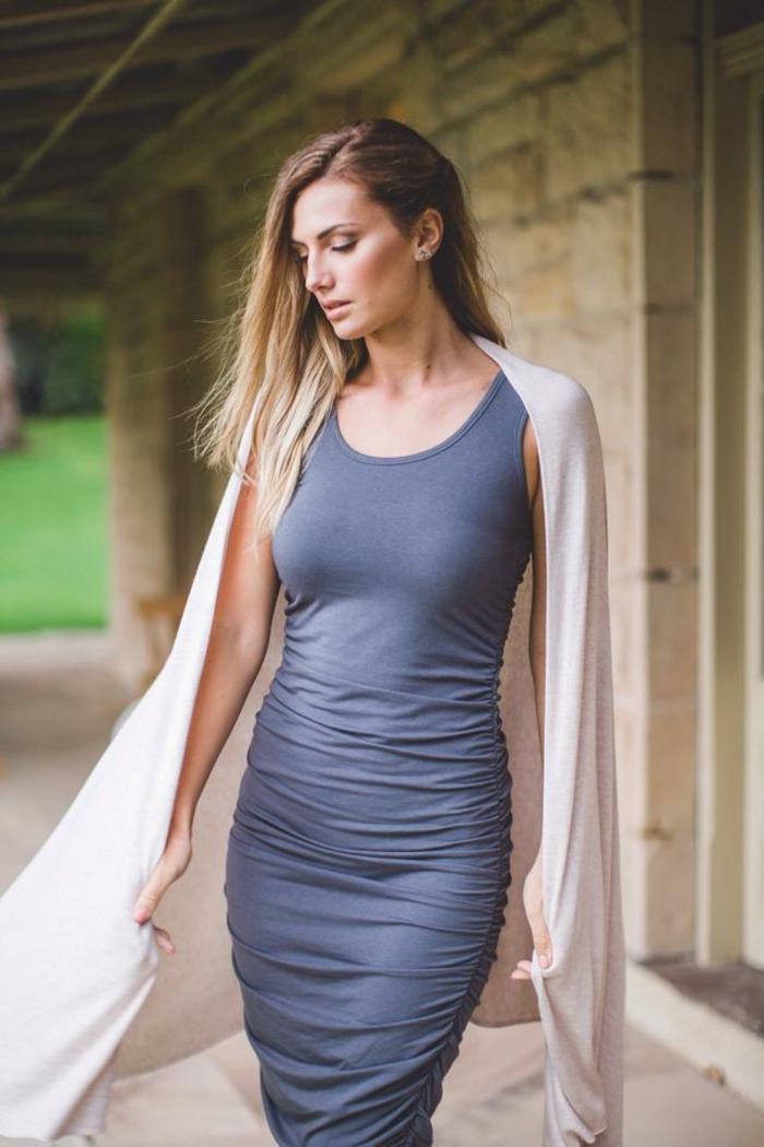 nachhaltige mode frauen elegantes kleid modetrends