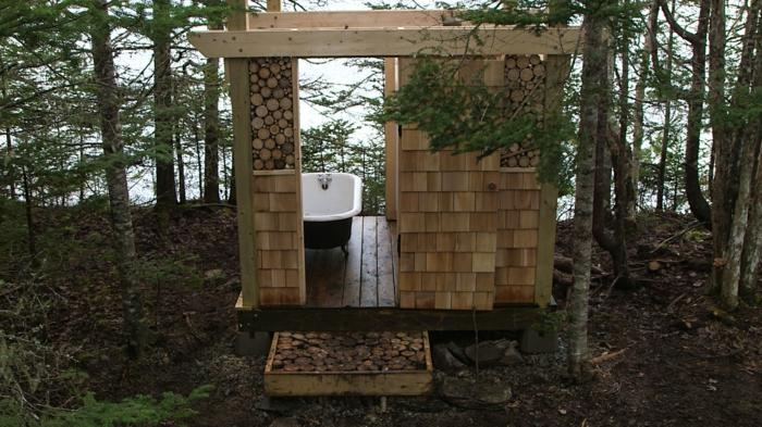 Outdoor dusche gartendusche f r einen noch tolleren sommer for Gartengestaltung landhausstil