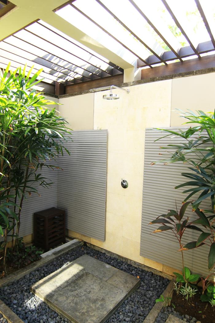 dusche im garten erfrischung sommer m246belideen