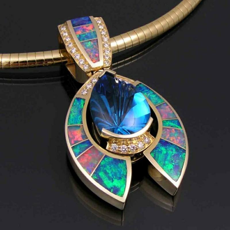 passende Edelsteine Sternzeichen Krebs Opal