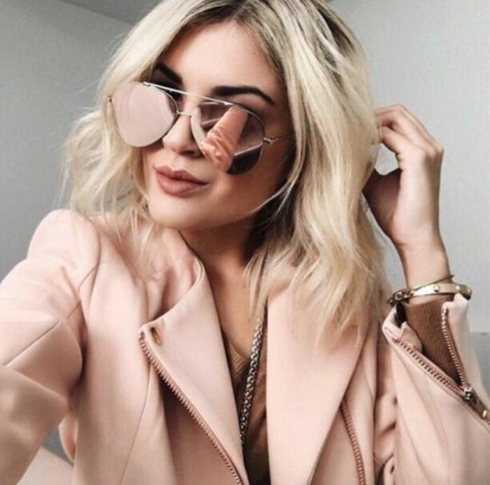 reflektierende Designer Sonnenbrillen Damen Modetrends Accessoires