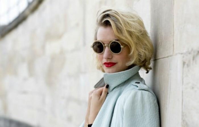 runde Sonnenbrillen Damen Modetrends Accessoires Sommermode