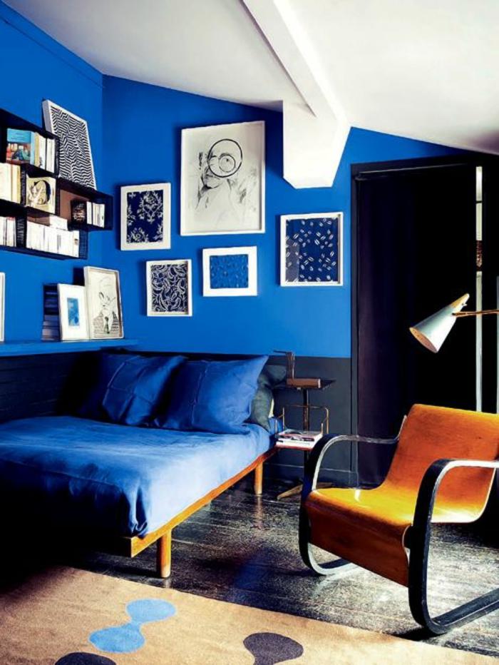 Blaue Wandfarbe Schlafzimmer : Schlafzimmer blau blaue schlafbereiche die schlaf