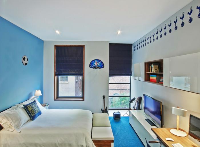 schlafzimmer blau - 50 blaue schlafbereiche, die schlaf und, Hause ideen