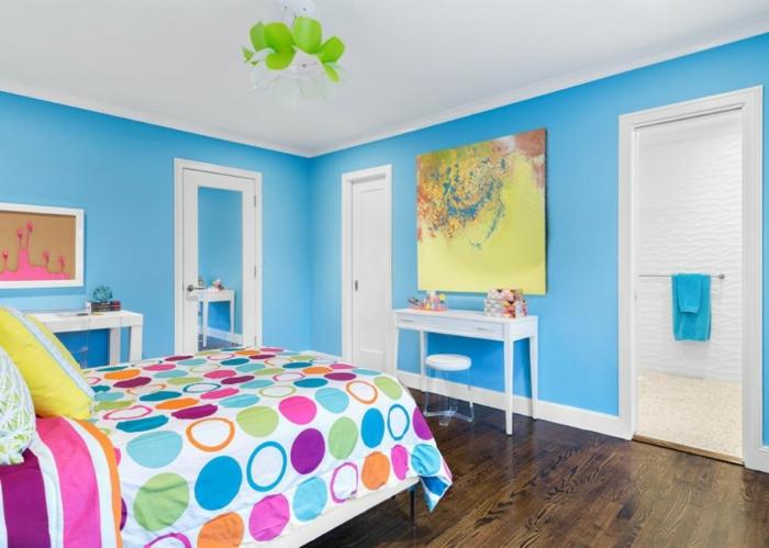 Schlafzimmer Blau - 50 Blaue Schlafbereiche, Die Schlaf Und ... Blaue Wnde Schlafzimmer