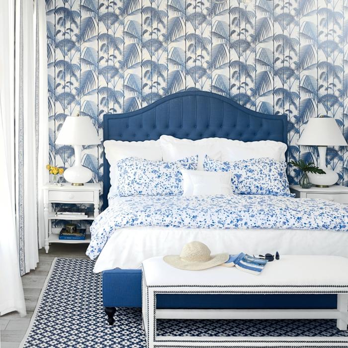 Sehr Schlafzimmer Blau - 50 blaue Schlafbereiche, die Schlaf und NC32