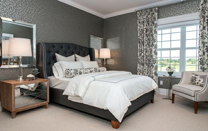 Schlafzimmer Ideen Grau Schwarz ~ Übersicht Traum Schlafzimmer