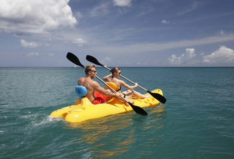 schnell und gesund abnehmen Sport treiben Wassersport