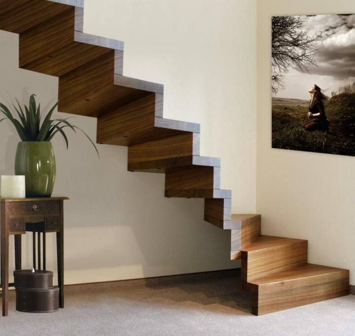 treppengestaltung hölzerne treppen innentreppen