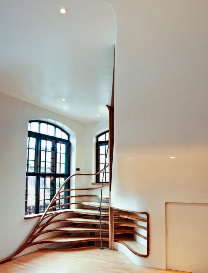 treppengestaltung moderne innenarchitektur holz