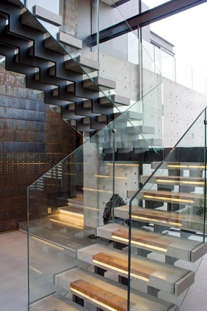 treppengestaltung organische treppen moderne innenarchitektur