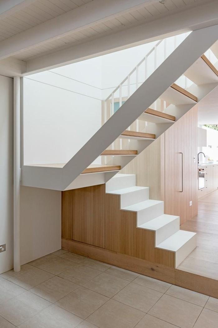 Treppengestaltung Schwebende Treppen Futuristisch