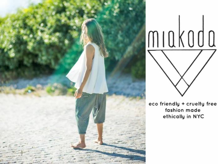 vegane mode nachhaltige mode nachhaltige kinderkleidung miakoda newyork