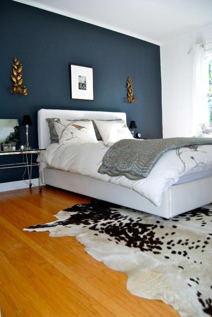 Wohnideen schlafzimmer farbgestaltung blau  Schlafzimmer Blau - 50 blaue Schlafbereiche, die Schlaf und ...