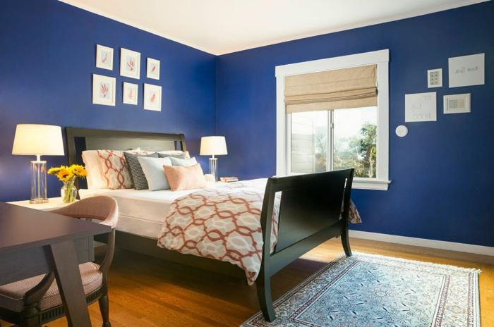Schlafzimmer In Blau U2013 50 Blaue Schlafbereiche, Die Schlaf Und Erholung  Garantieren ...