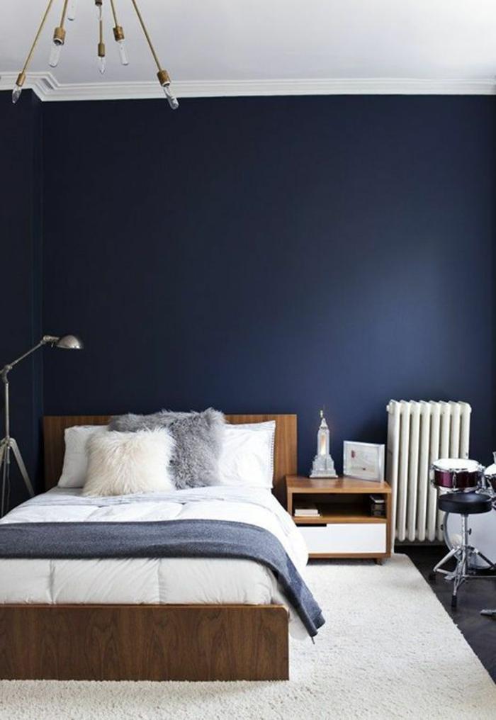 Gut Schlafzimmer In Blau U2013 50 Blaue Schlafbereiche, Die Schlaf Und Erholung  Garantieren ...