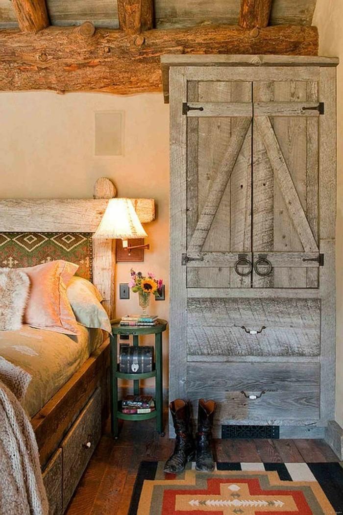 Schlafzimmer landhausstil 33 beispiele f r rustikales for Teppich landhausstil