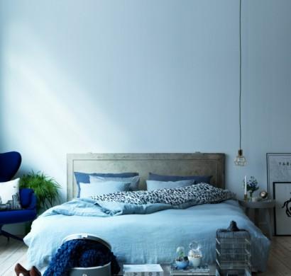 Schlafzimmer In Blau U2013 50 Blaue Schlafbereiche, Die Schlaf Und Erholung  Garantieren