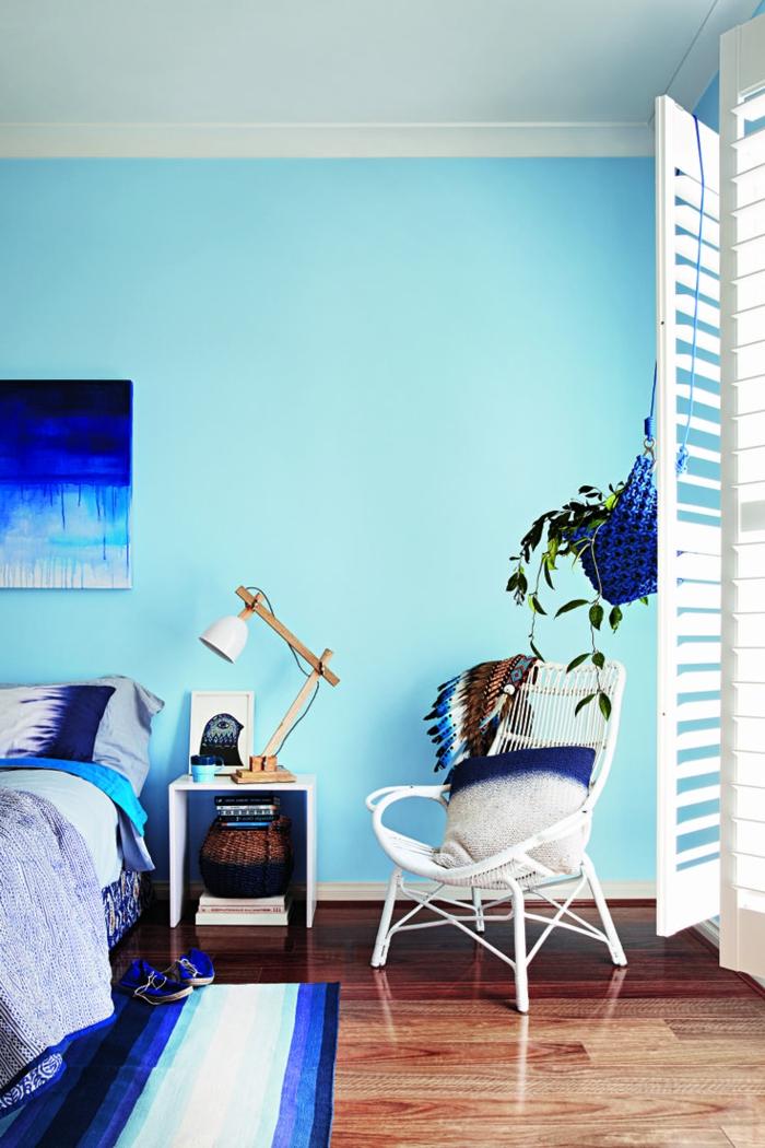 Schlafzimmer Blau - 50 Blaue Schlafbereiche, Die Schlaf Und