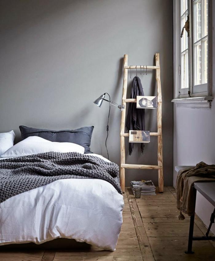 Schlafzimmer Grün Grau: 88 Schlafzimmer Mit Deutlicher Präsenz
