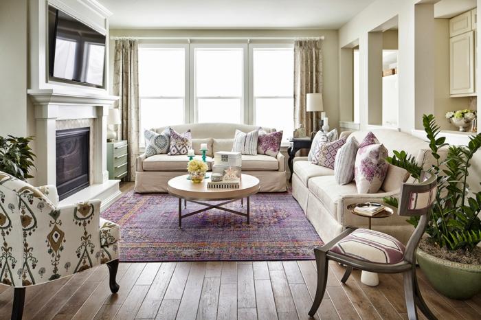 Wohnzimmergestaltung Beige : einrichtungsideen wohnideen wohnzimmer ...