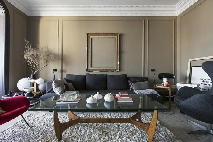 wohnzimmer beige gestalten 60 beispiele wie sie das. Black Bedroom Furniture Sets. Home Design Ideas
