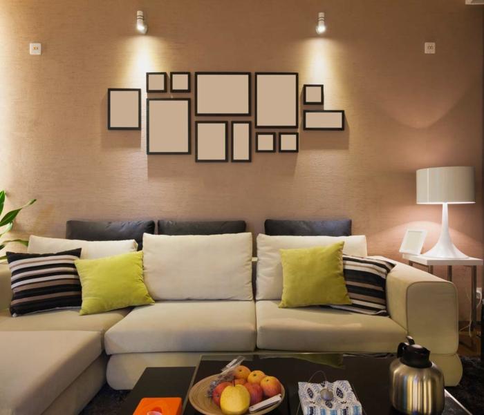 wohnideen betonen wohnzimmer moderne inspiration