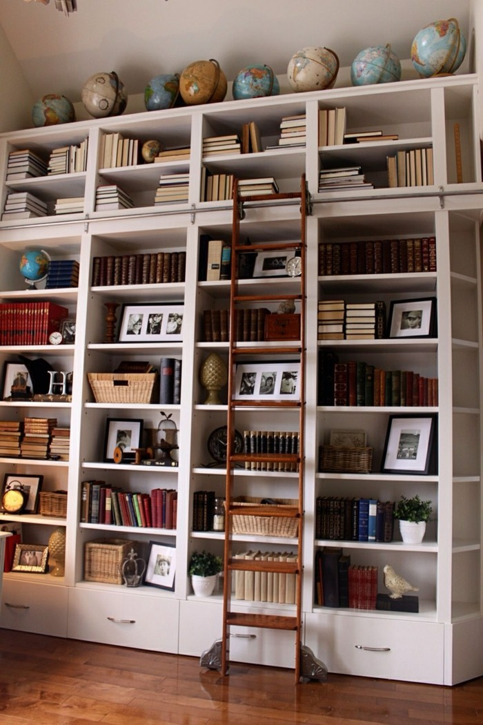 wohnideen wohnzimmer globen deko