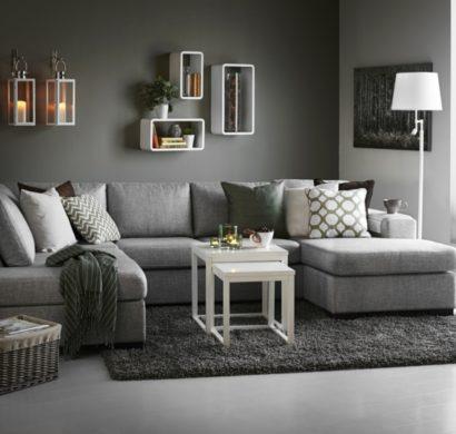 Schon Wohnzimmer Grau U2013 In 55 Beispielen Zeigen Wir, Wie Das Geht