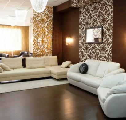 design wohnzimmer farblich gestalten braun