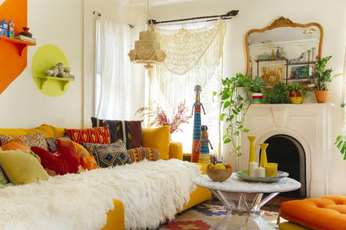 so gelingt ihnen die wohnungseinrichtung im boho style. Black Bedroom Furniture Sets. Home Design Ideas