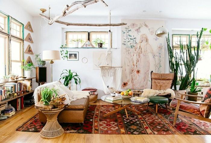 So Gelingt Ihnen Die Wohnungseinrichtung Im Boho Style | Einrichtungsideen  ...