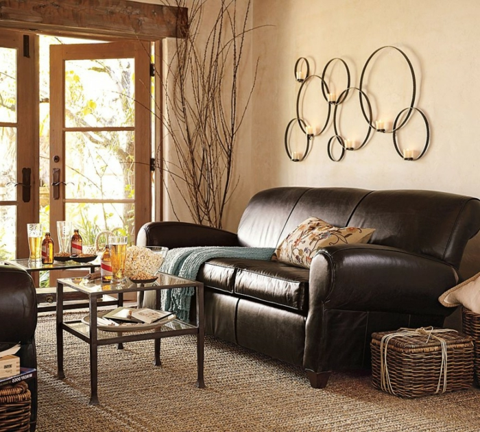 wohnzimmer beige gestalten 60 beispiele wie sie das besser machen. Black Bedroom Furniture Sets. Home Design Ideas