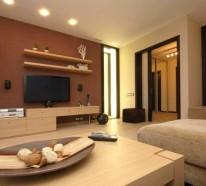 wie sie ein braunes wohnzimmer gestalten wohnzimmer braun ...