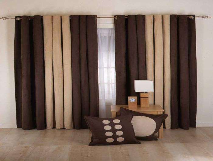 Wohnzimmer gestalten beige  Wohnzimmer Braun - 60 Möglichkeiten, wie Sie ein braunes ...