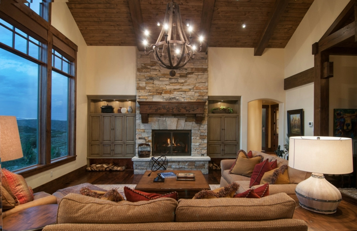 Modern And Traditional Living Room